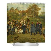 His Highness On A Journey Shower Curtain