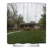 Historic Mormon Cabin Shower Curtain