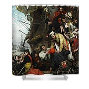Home Again Henry Nelson Oneil Shower Curtain