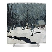 Horace Pippin Shower Curtain