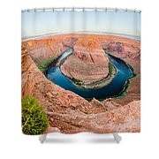 Horseshoe Bend Near Page Arizona Shower Curtain