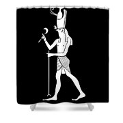 Horus - God Of Ancient Egypt Shower Curtain