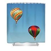 Hot Air Balloons Shower Curtain