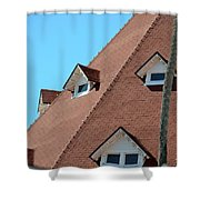 Hotel Coronado Shower Curtain