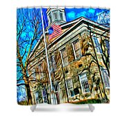Howard County Courthouse Shower Curtain