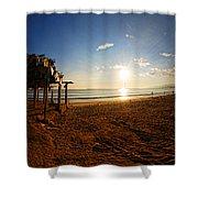 Huequito Beach Shower Curtain