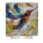 Hummingbird Dance  Shower Curtain
