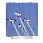 Iaf Acrobatic Team Shower Curtain