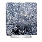 2. Ice Pattern 1, Corbridge Shower Curtain