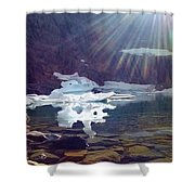 Iceberg Lake Shower Curtain