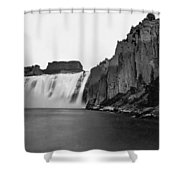 Idaho: Shoshone Falls Shower Curtain