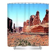 In Monument Valley, Arizona Shower Curtain