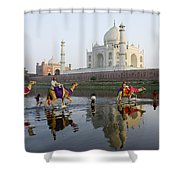 India's Taj Mahal Shower Curtain