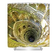 Initiation Well Sintra Shower Curtain