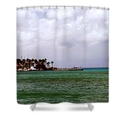 Island Harbor Shower Curtain