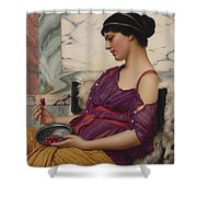 Ismenia Shower Curtain