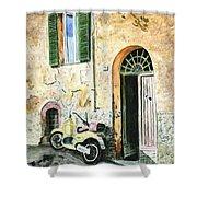 Italian Alley Shower Curtain