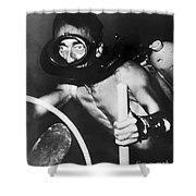 Jacques Cousteau (1910-1997) Shower Curtain