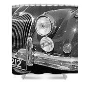 Jaguar Xk Series Shower Curtain