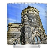 James A. Garfield Memorial Shower Curtain