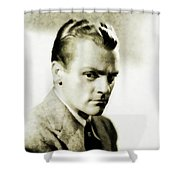James Cagney, Vintage Actor Shower Curtain