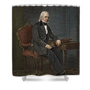James Knox Polk (1795-1849) Shower Curtain