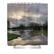 Janesmoor Pond - New Forest Shower Curtain