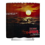 Jaws 2 1978  Shower Curtain