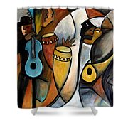 Jazzz Shower Curtain