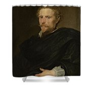 Johannes Baptista Franck Shower Curtain
