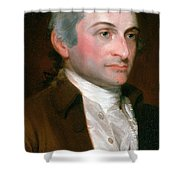 John Jay, American Founding Father Shower Curtain