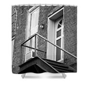 Jonesborough Tennessee - Upstairs Neighbors Shower Curtain