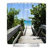 Juno Beach Florida Shower Curtain