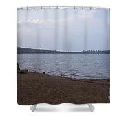 Kaas Lake Shower Curtain