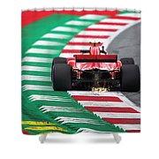 Kimi Raikkonen Austria 2018 Shower Curtain