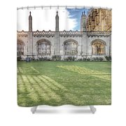 King's College Cambridge Shower Curtain