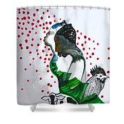 Kintu And Nambi Poster Shower Curtain