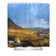 Kirkjufell. Shower Curtain