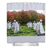 Korean War Shower Curtain