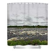 Kukkolankoski Shower Curtain