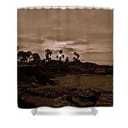 La Jolla Sunset Shower Curtain