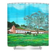 La Purisima Mission Shower Curtain
