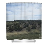 Lake At Concho Shower Curtain