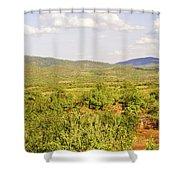 Landscape In Tanzania Shower Curtain