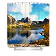 Landscape Of Shower Curtain