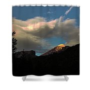 Lanin National Park Shower Curtain