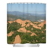 Las Medulas Shower Curtain