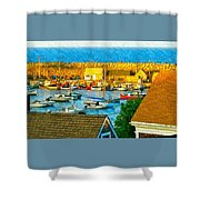 Last Light Of The Day Shower Curtain