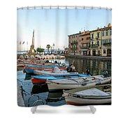 Lazise - Italy Shower Curtain
