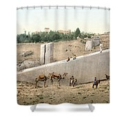 Lebanon: Baalbek Shower Curtain